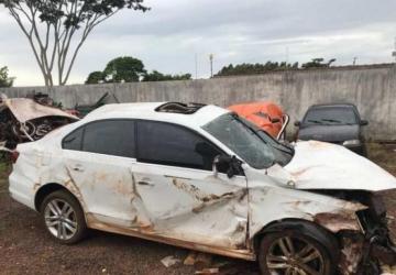 Traficante morre após fugir da PRF em veículo com 834 kg de maconha