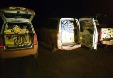 DOF apreende quatro toneladas de maconha em carros roubados