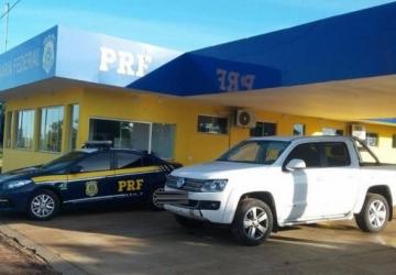 Caminhonetas de luxo roubadas são recuperadas pela PRF