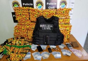 Polícia intercepta carregamento de maconha