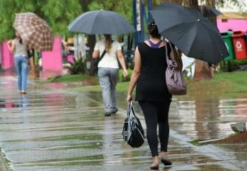 Estado registra chuva acima da média