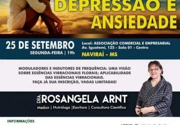 Naviraí terá palestra sobre depressão e ansiedade