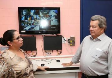 Onevan entrega vídeo-monitoramento na escola Presidente Médici