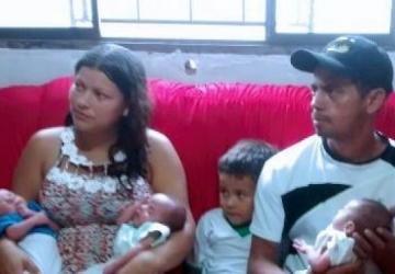 Trigêmeos mudam rotina de família naviraiense