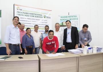 Mutuários assinam contratos para o Interlagos II