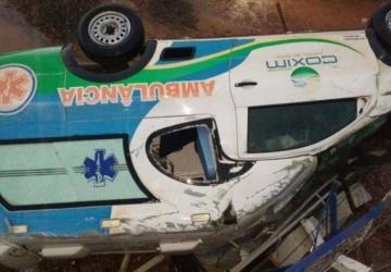 Paciente morre em acidente com ambulância da Prefeitura
