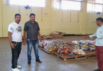 Famílias de Naviraí ajudam os desempregados da Dcoil