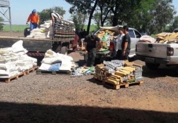 Polícia faz sétima incineração do ano e destrói quinze toneladas de drogas