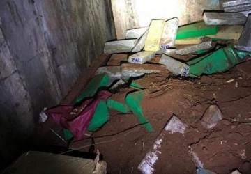 PC descobre bunker de esconderijo de até seis toneladas de drogas